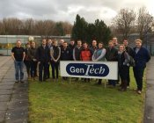 Bryonie on the Next Generation programme at Gentech in December 2015