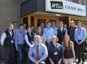 Bryonie on the Next Generation programme at McCain June 2015