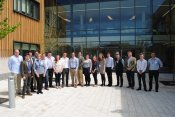 Bryonie on the Next Generation programme at AHDB offices, Stoneleigh Park May 2015